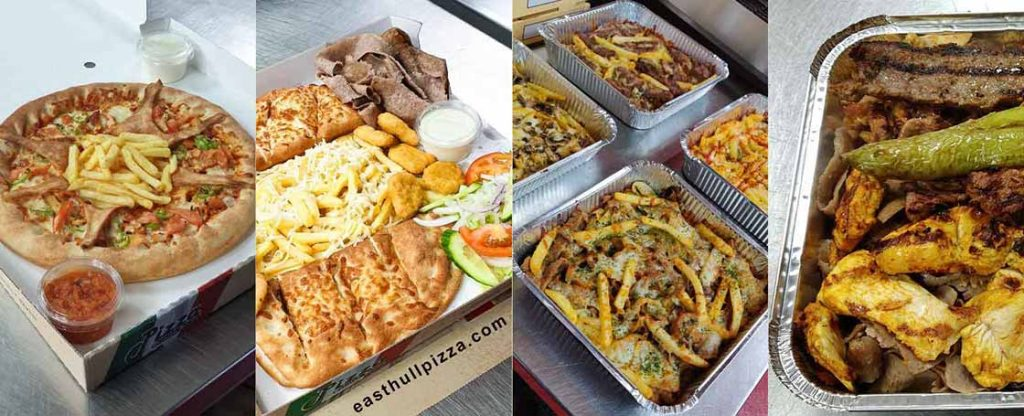 East Hull takeaway pizza, calzone, pizza fries and munchie boxes collection